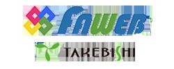 brands logo faweb takebishi